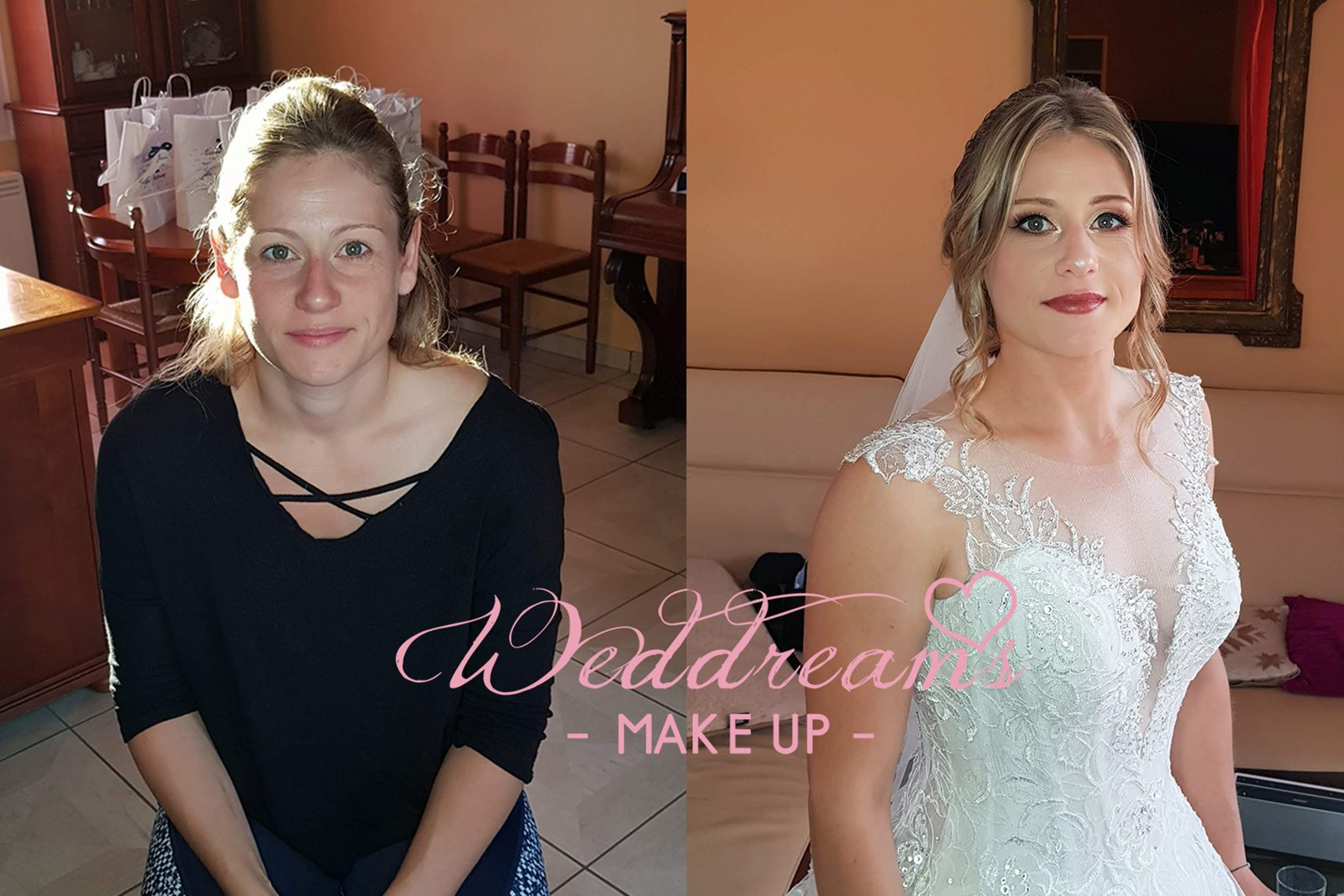 coiffeuse maquilleuse mariage a domicile